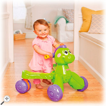 Fisher-price Stride-to-Ride Dino Walker