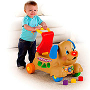"Ходилка-каталка Fisher-price ""Музыкальный щенок"""