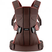 Эргономичный рюкзак Babybjorn One Dark Chocolate Cotton Mix